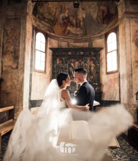 Matrimonio nel Castelletto di Lion all'insegna del divertimento