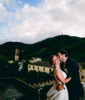 Elegant Wedding in Villa Vescovi (FAI) Italy